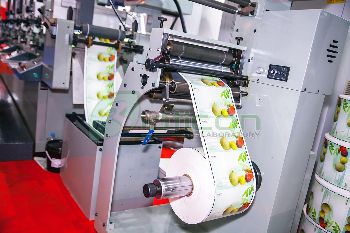 รับออกแบบและปริ้นสติกเกอร์ bioticon รับพิมพ์สติกเกอร์