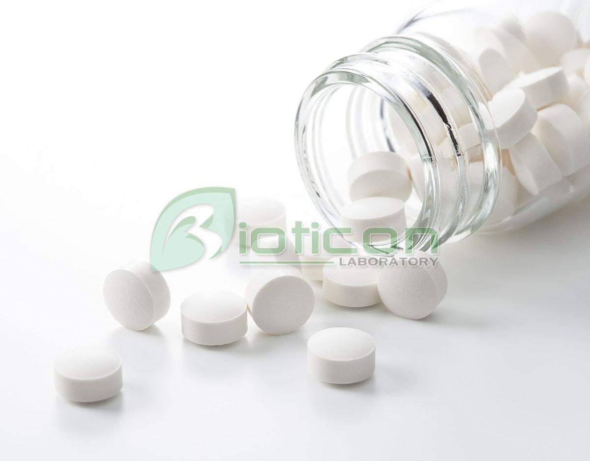 ผลิตอาหารเสริมแบบตอกเม็ด Tablet Pill Bioticon